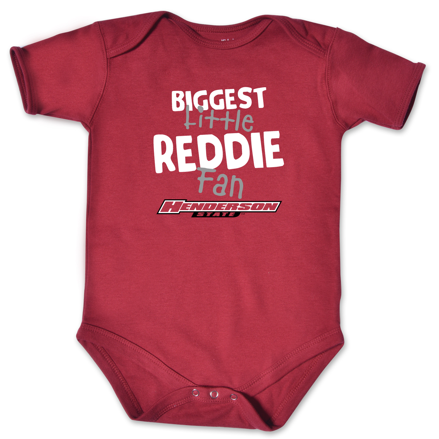 Biggest Little Reddie Fan Infant Bodysuit