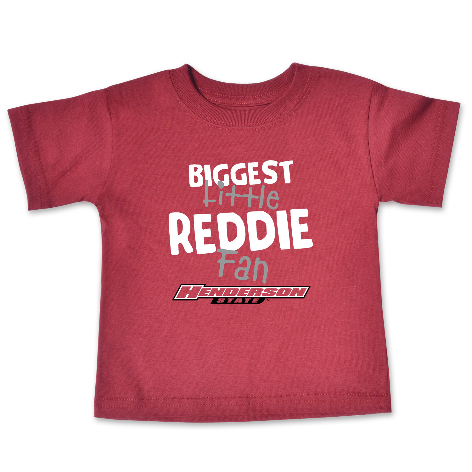 Biggest Little Reddie Fan Infant Short Sleeve T-Shirt