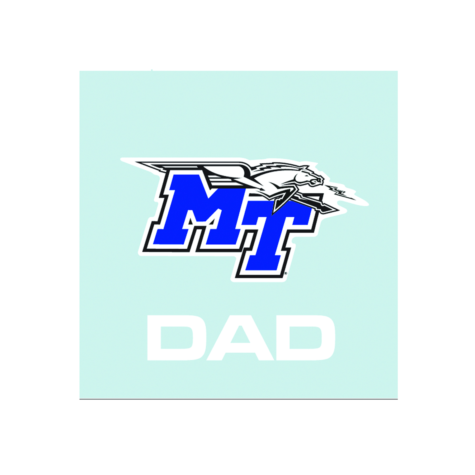 MT Dad Decal