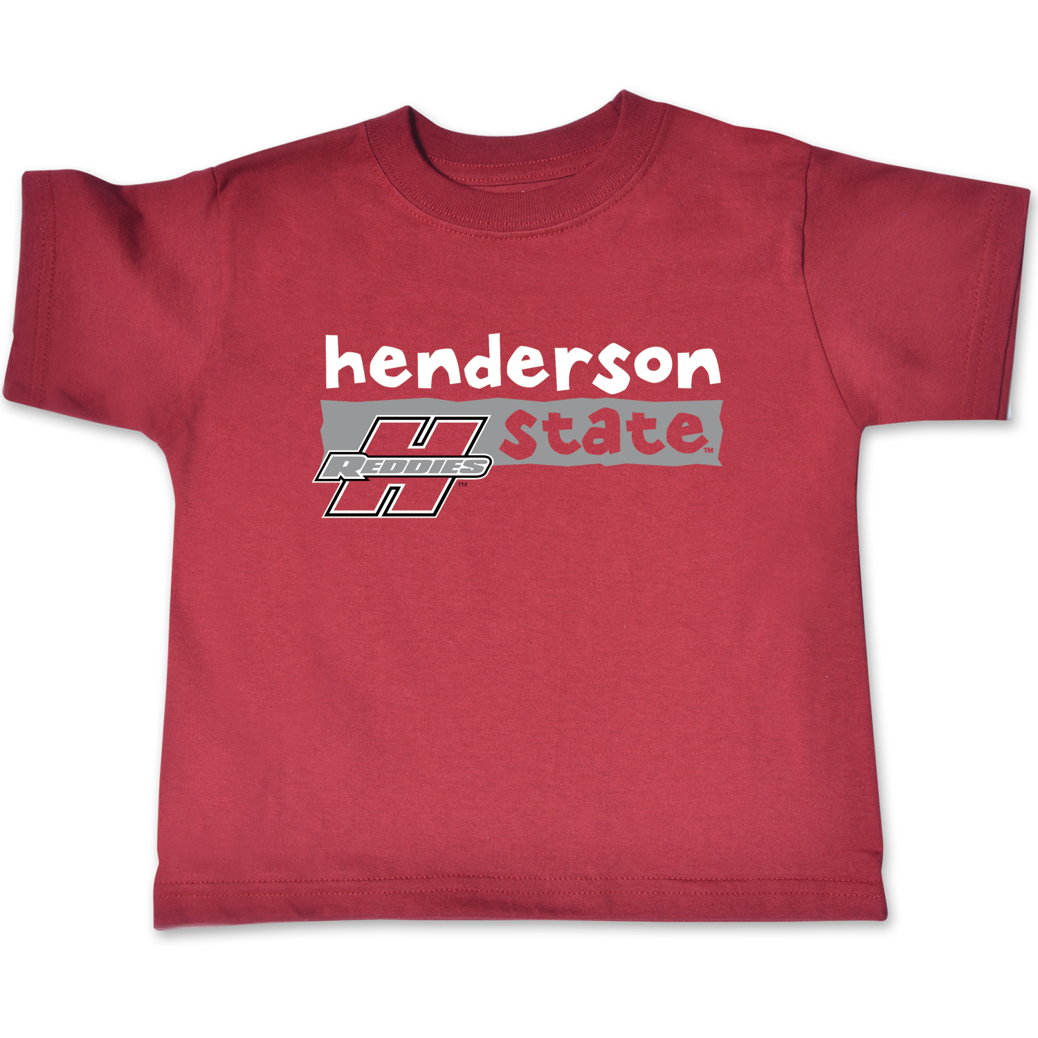 Henderson State Reddies Toddler Short Sleeve T-Shirt