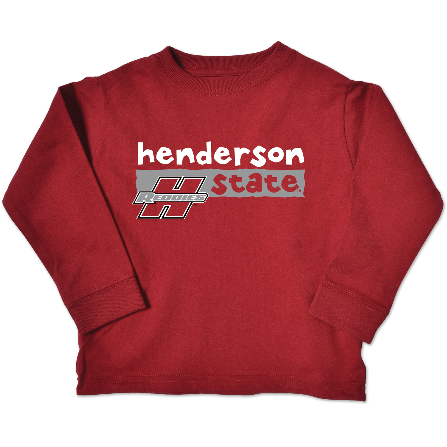 Henderson State Reddies Toddler Long Sleeve T-Shirt