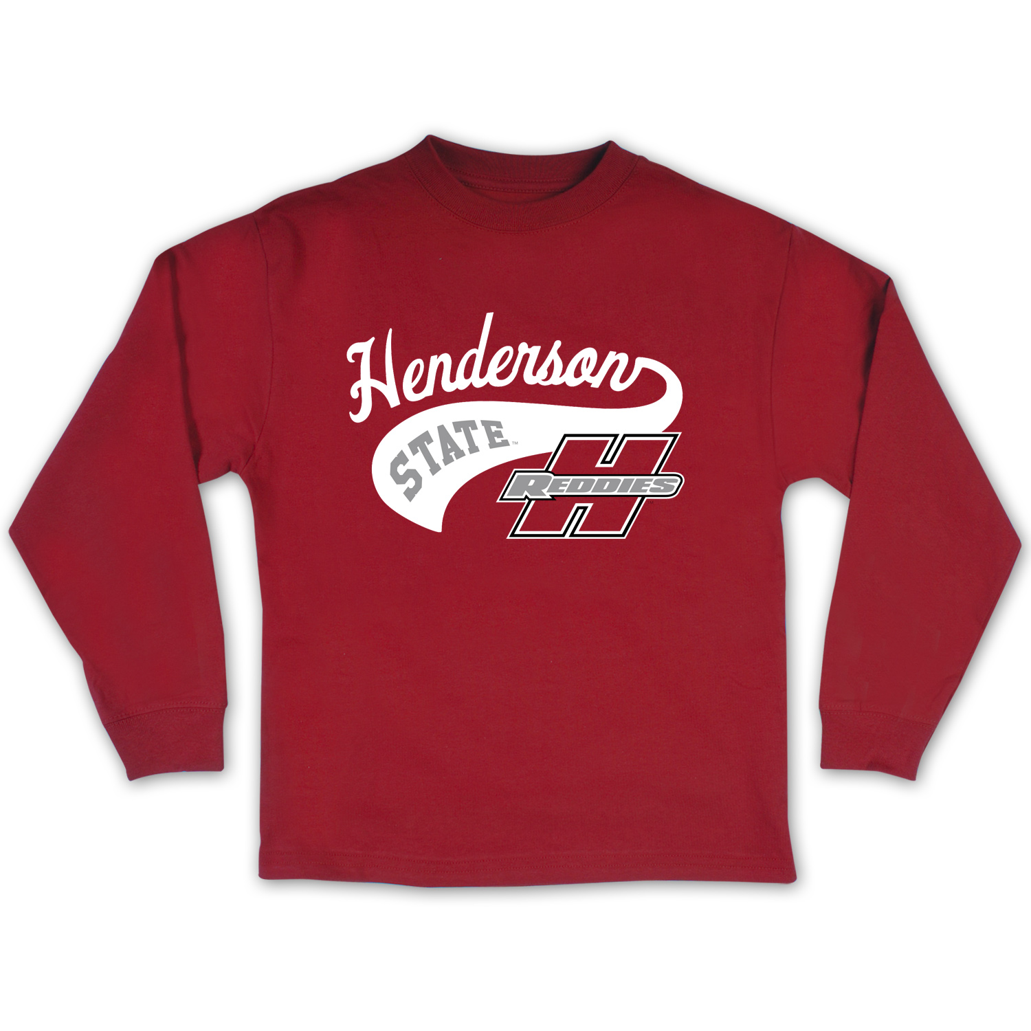 Henderson State Reddies Youth Long Sleeve T-Shirt