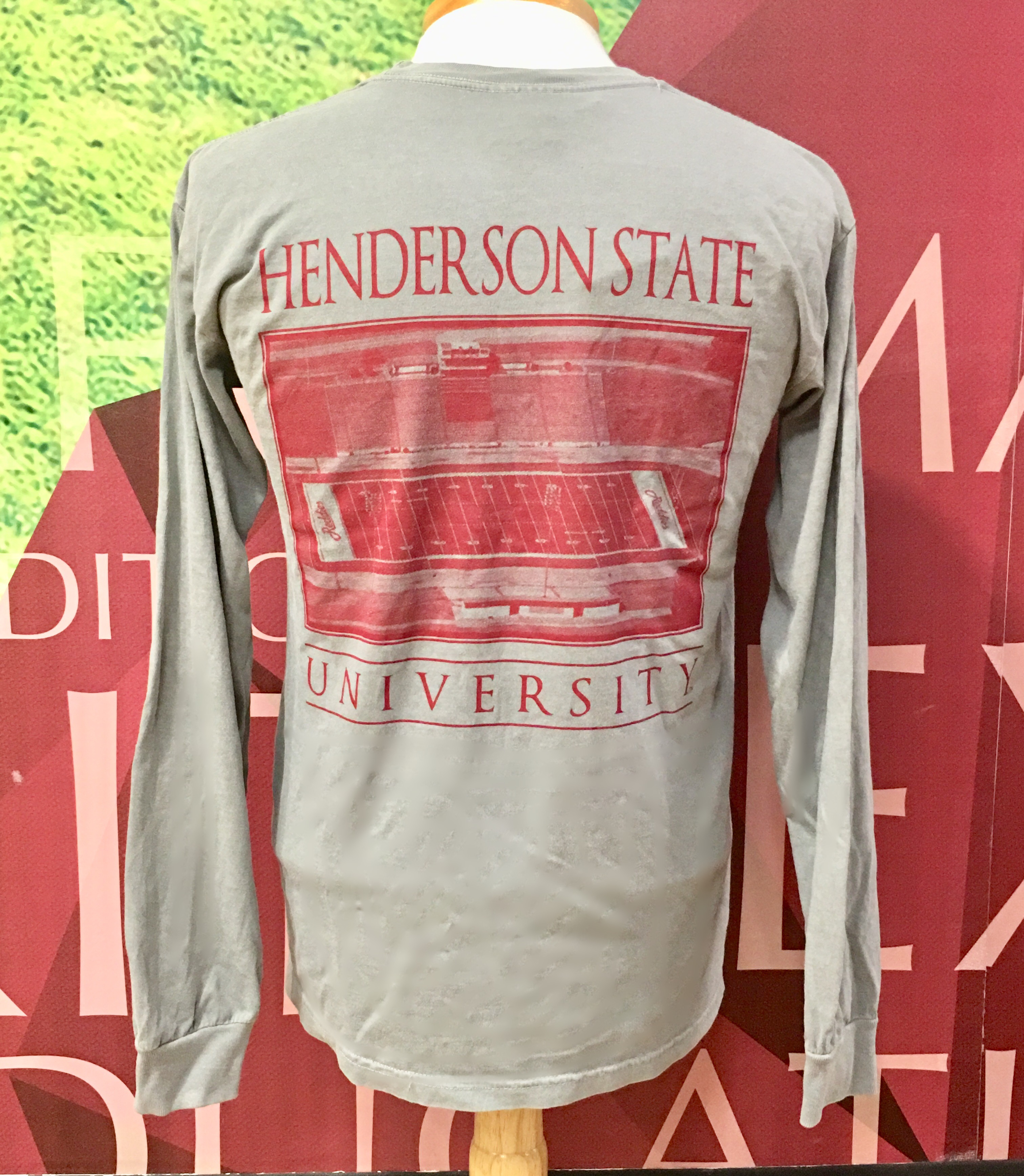 Henderson State University Football Long Sleeve T-Shirt