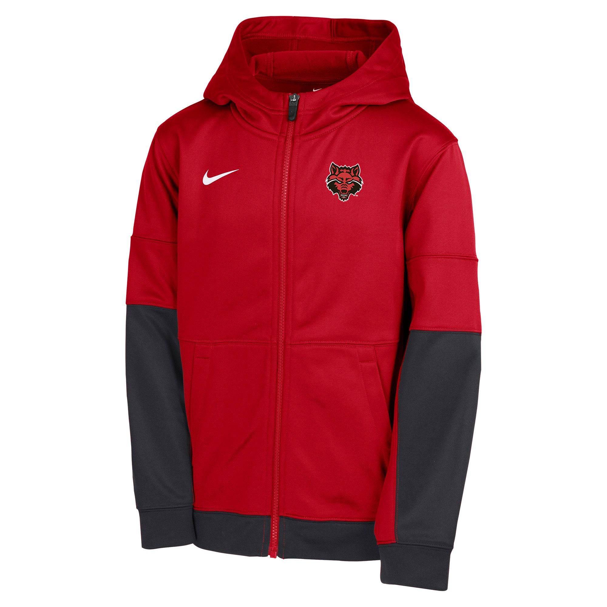 Red Wolves Boys Therma Full Zip