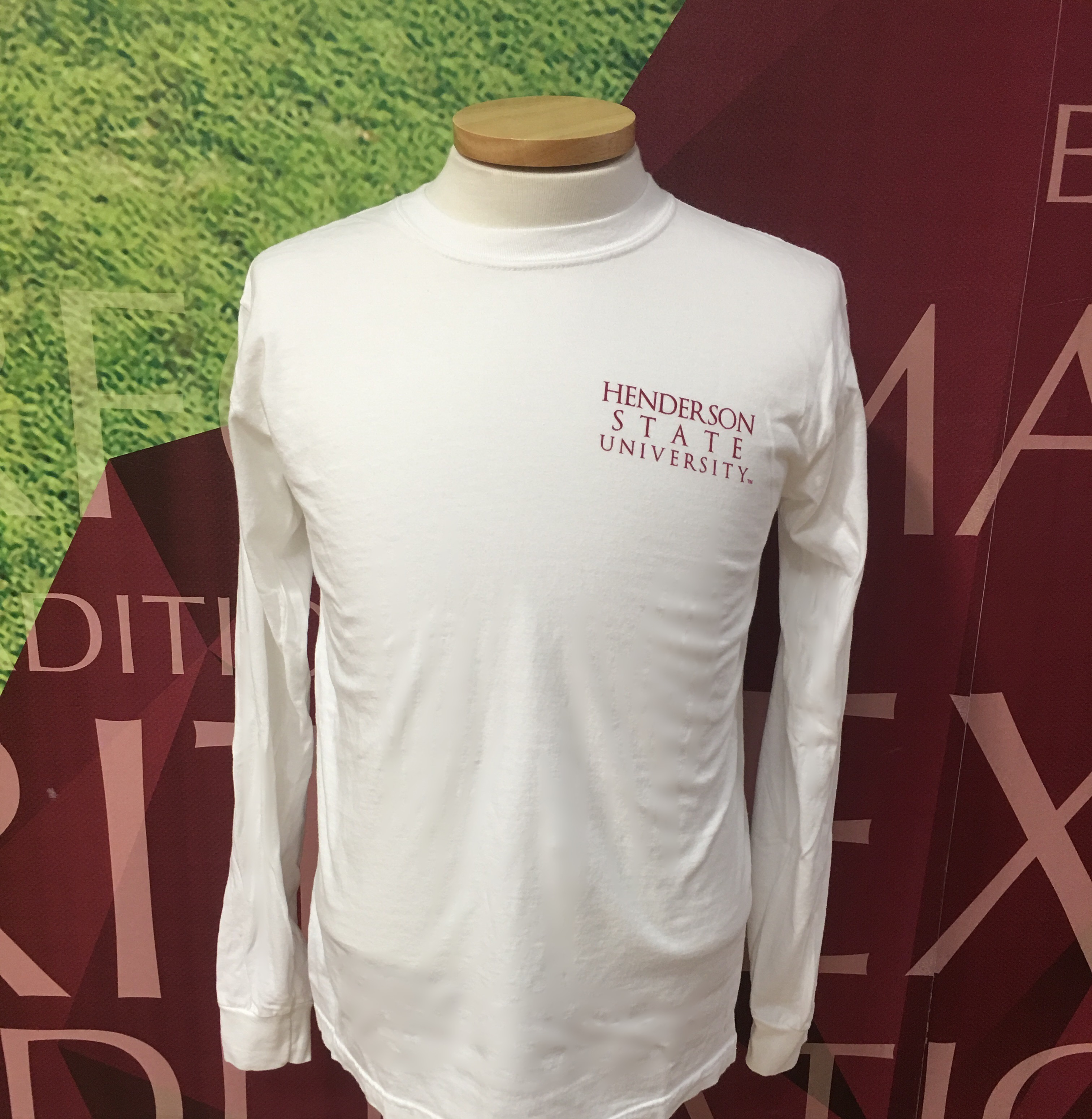 Henderson State University Football Long Sleeve T-Shirt