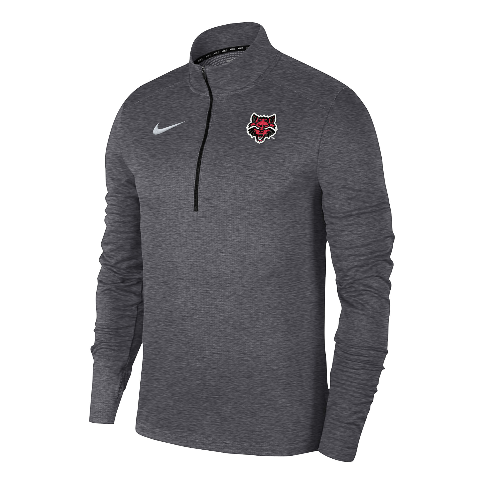 Red Wolves Pacer 1/4 Zip Pull Over