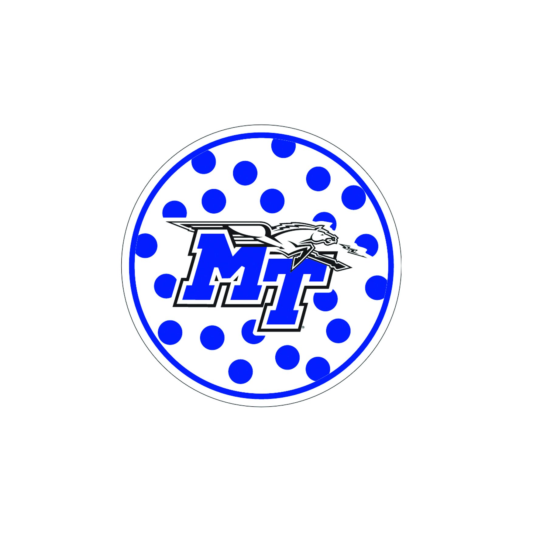 MT Polka Dot Decal
