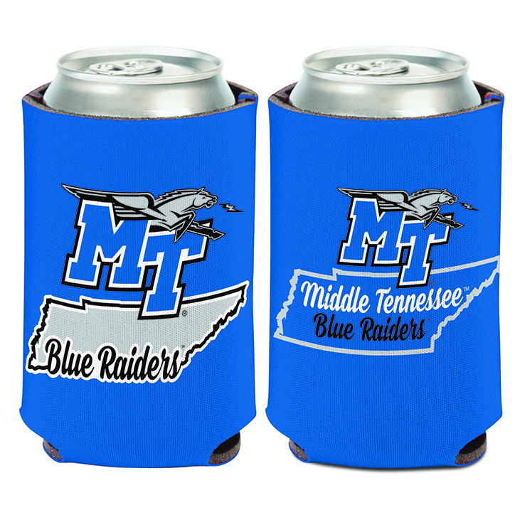 MT State Outline Can Coozie