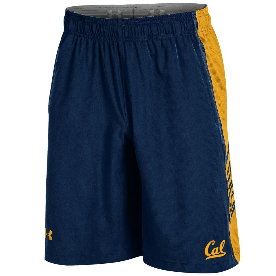 University of California Berkeley Under Armour Men's Woven Training Shorts