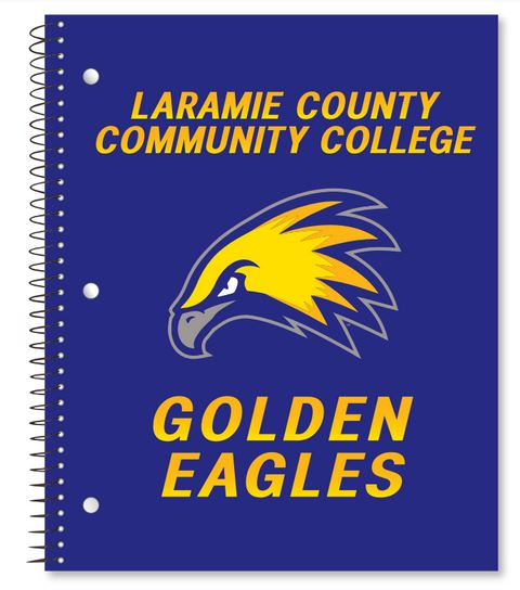 Golden Eagles 3-Subject Notebook