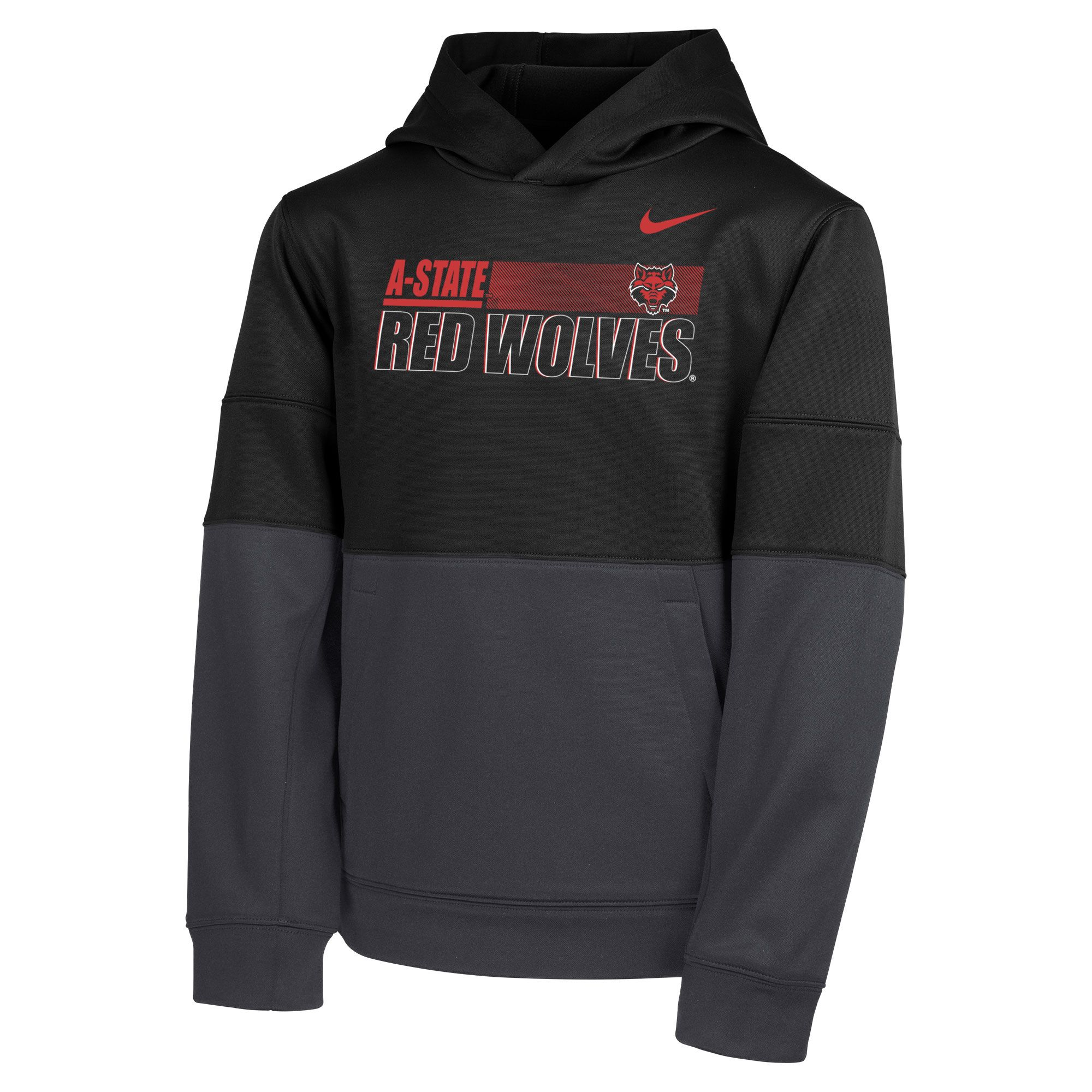 Arkansas State Youth Boys Therma PO Hoodie