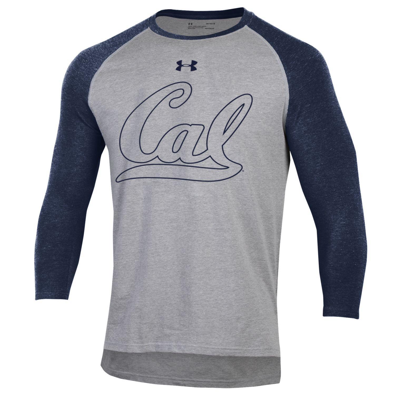 Cal Bears Under Armour F18 Men's Baseball Tee