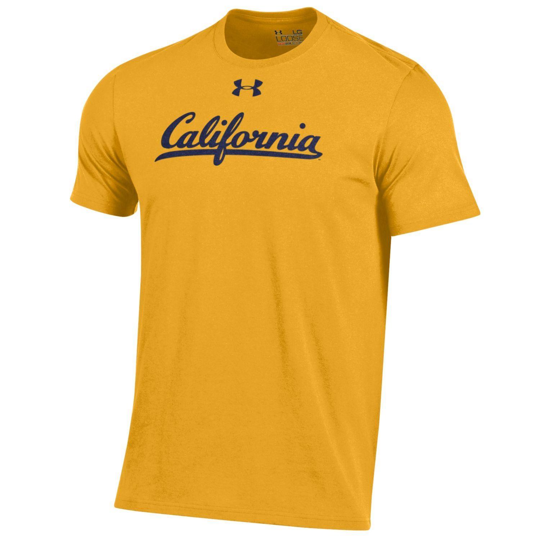 University of California Berkeley Under Armour Men's Charged Cotton Tee