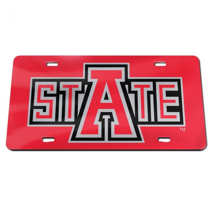 Arkansas State Acrylic Lisence Plate