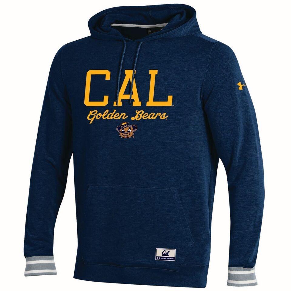 University of California Berkeley Under Armour  Mens Iconic Fleece Hoody − CAL BEARS
