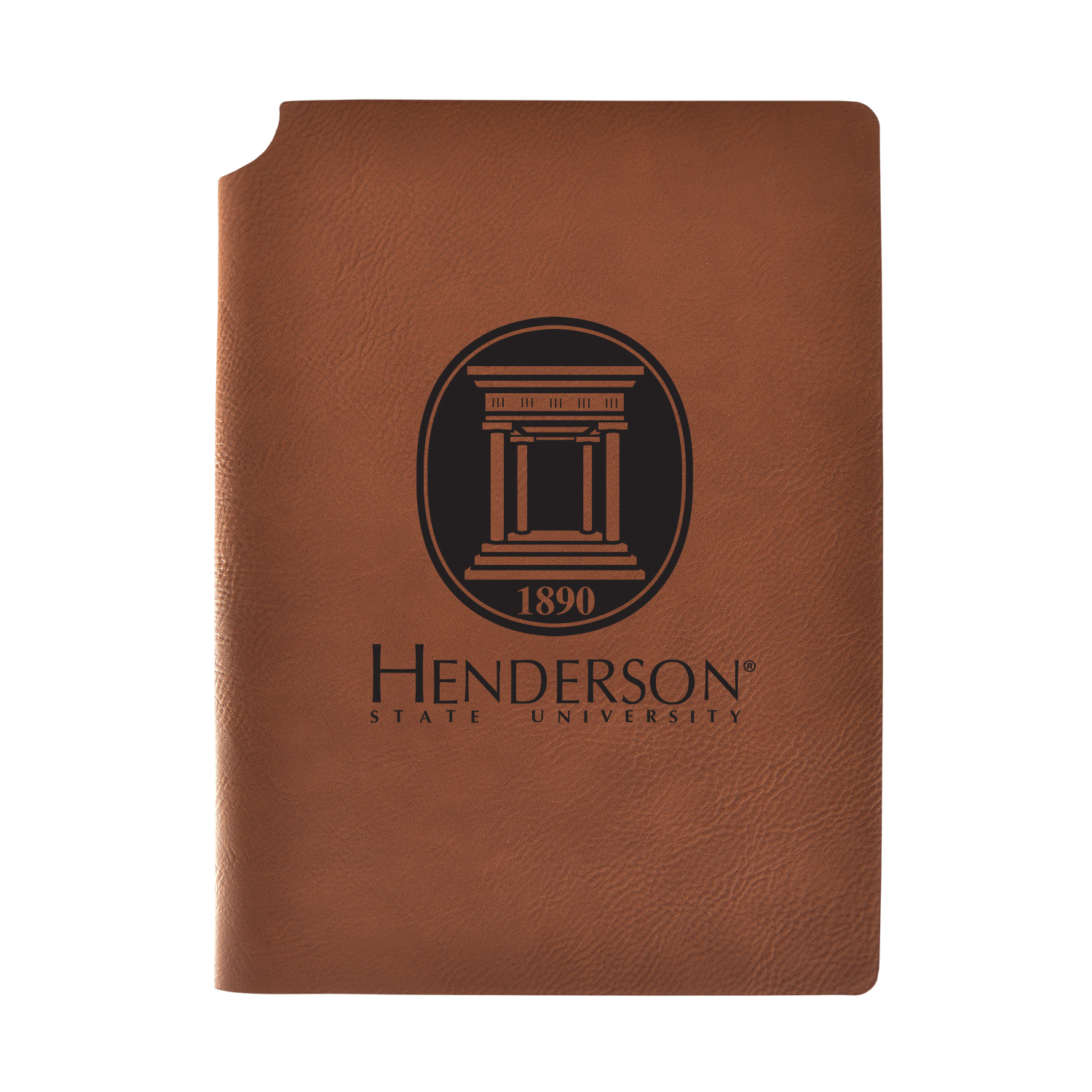 HSU Velour Journal With Pen Holder