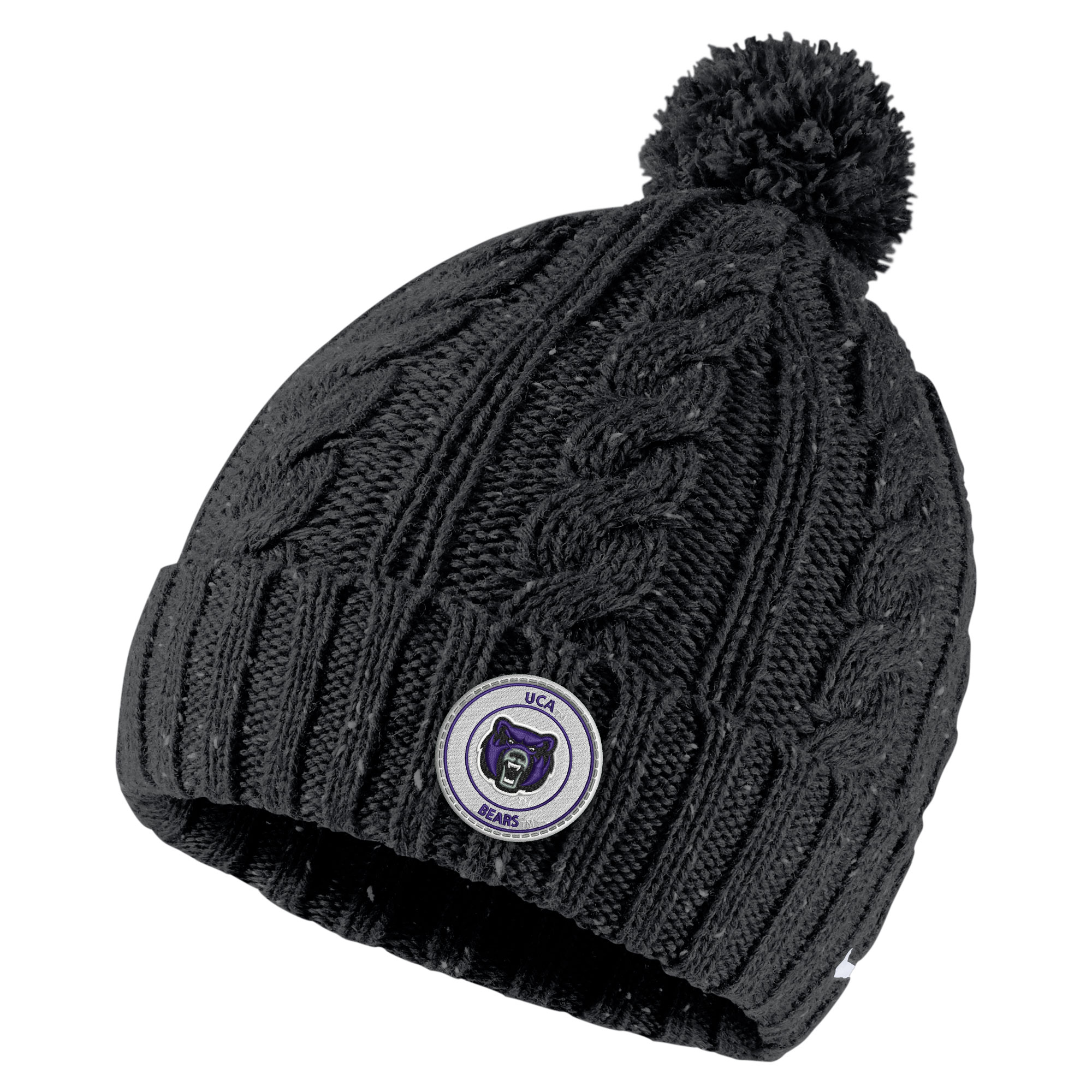 The UCA Bookstore  Women s Fleck Pom Beanie afe5c2fa6c6