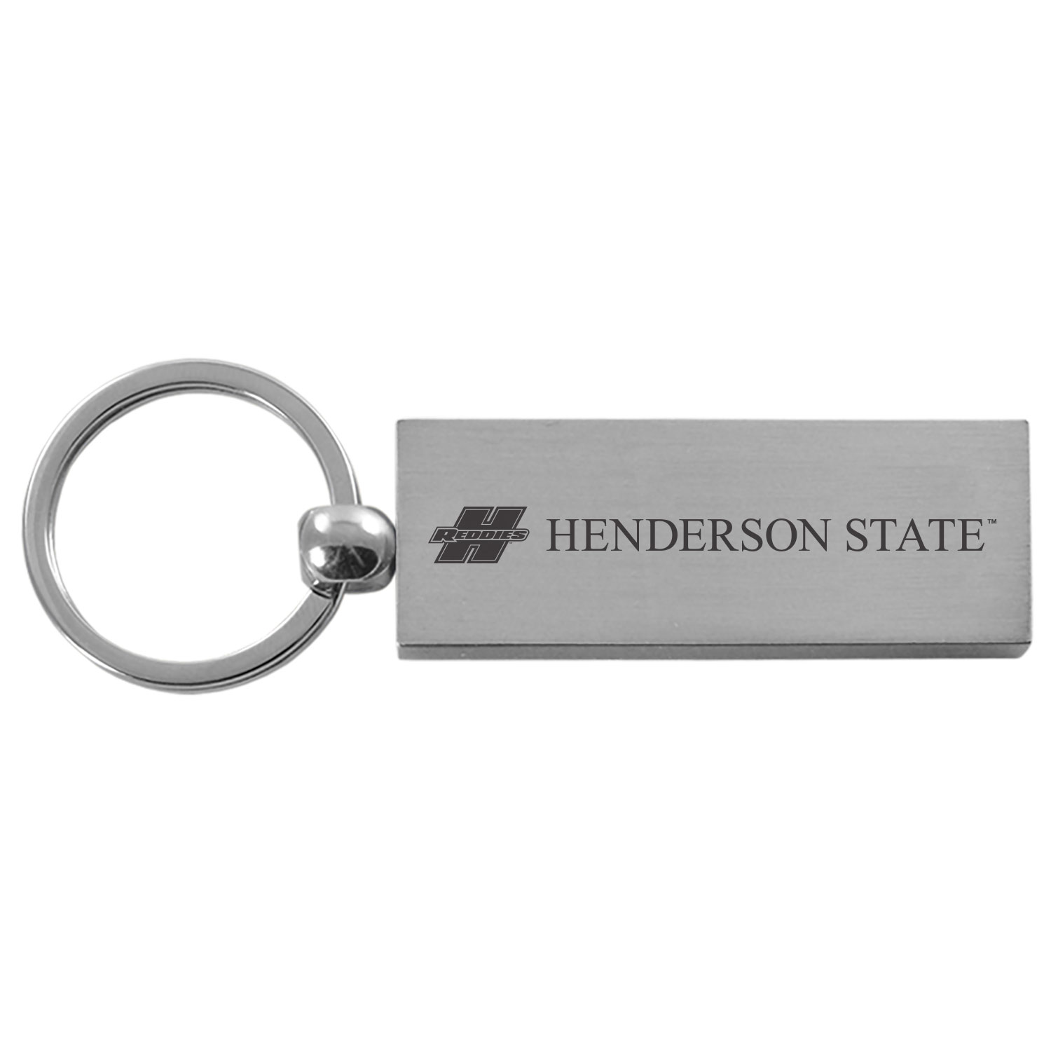 Henderson State Rectangle Key Tag