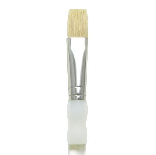 Soft Grip Stiff Hog Bristle Brushes