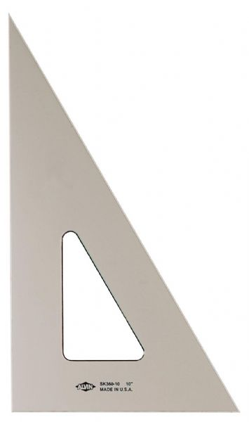 "6"" Plastic Triangle 30/60"