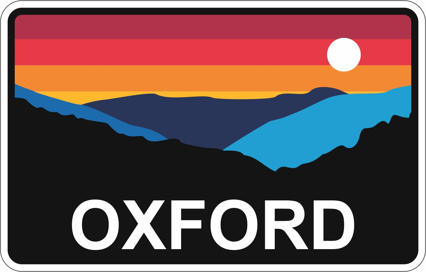 Oxford Decal