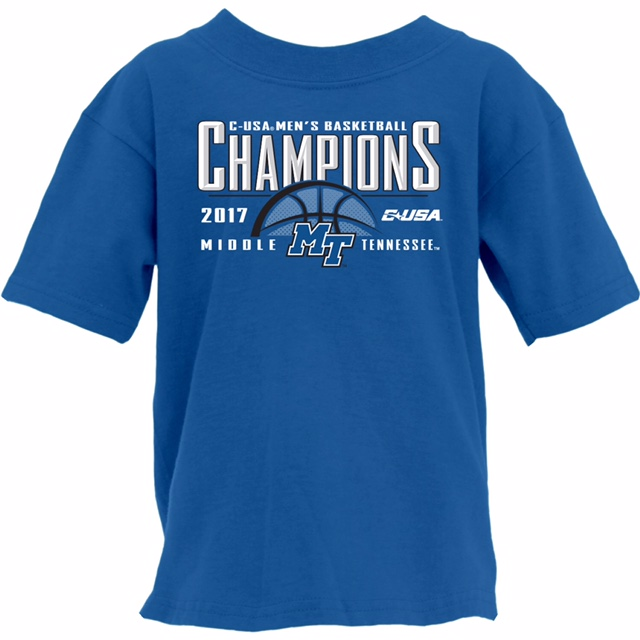MTSU Regular Season 2017 Champs Youth Tshirt