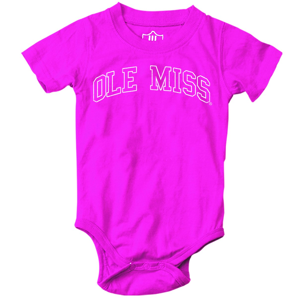 Girls Berry Pink Onesie 6mo