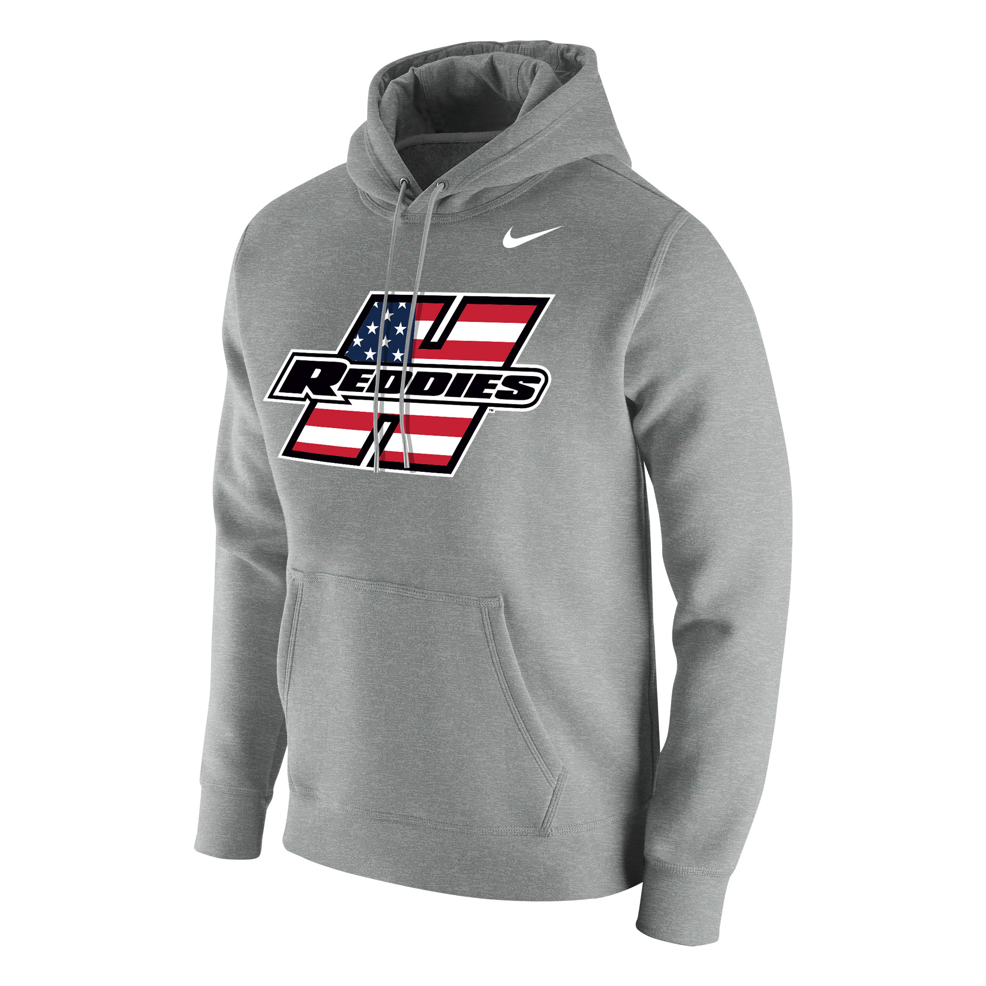 Henderson Reddies American Flag Club Fleece Hoodie