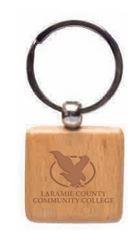 Clasic LCCC Wooden Keychain