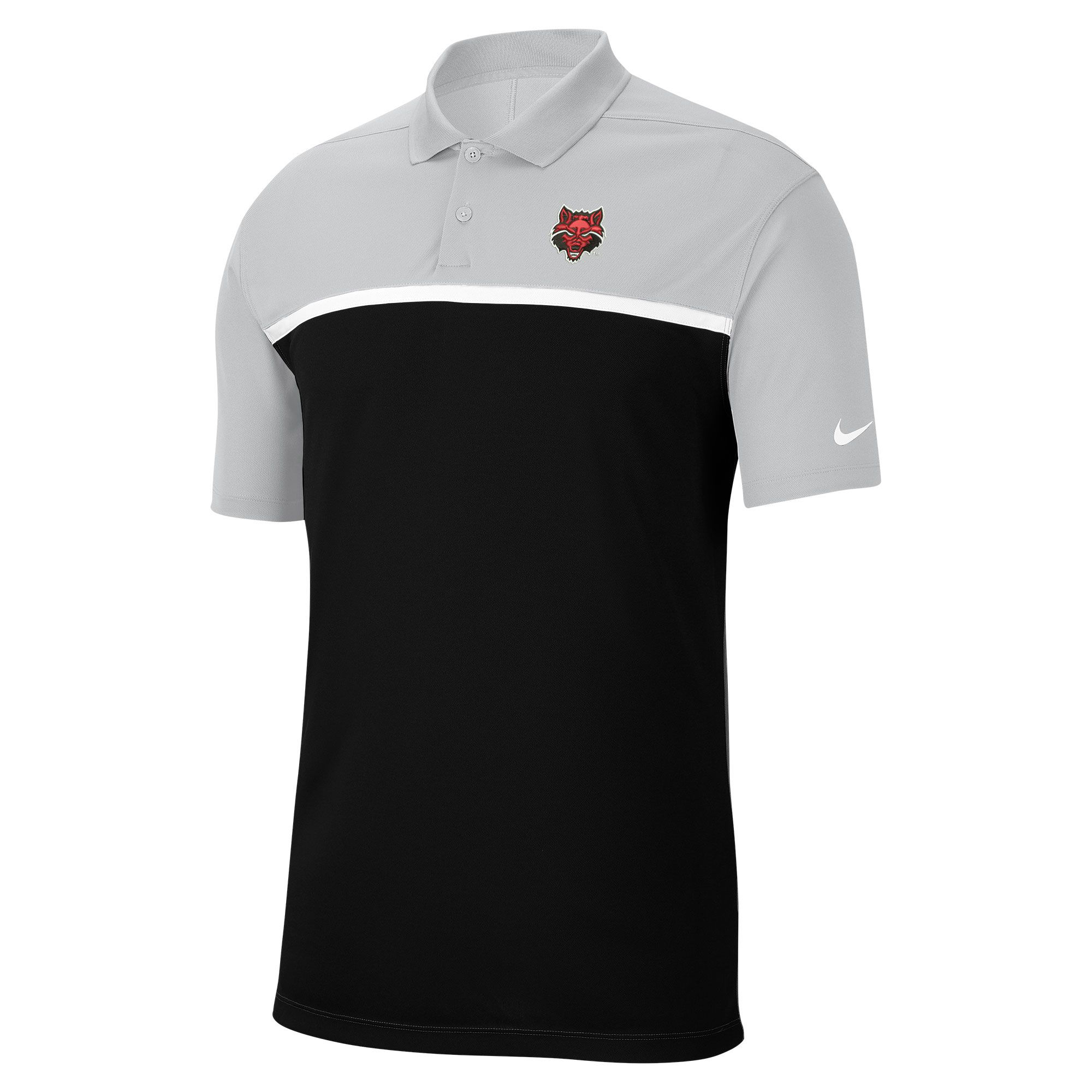 Red Wolves Victory Colorblock Polo