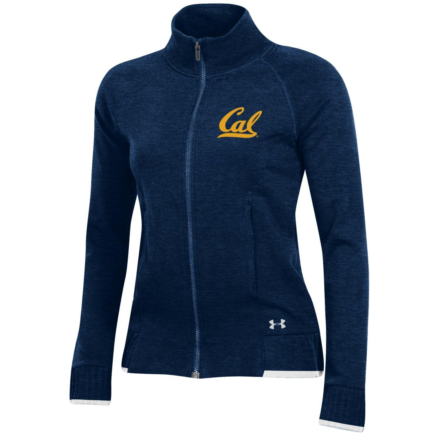 Cal Bears Under Armour F18 Women's Threadborne Full Zip