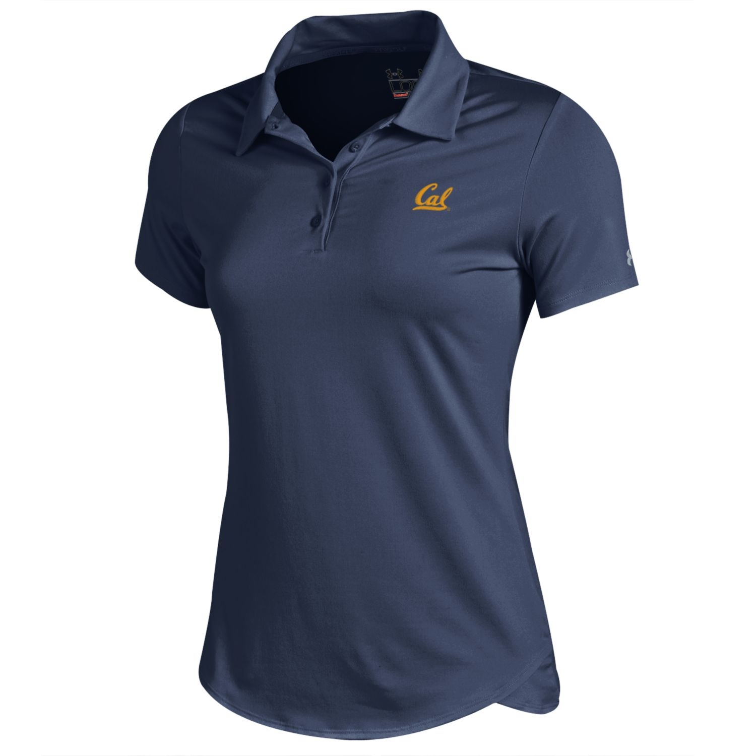 University of California Berkeley Under Armour  Leader S/S Polo