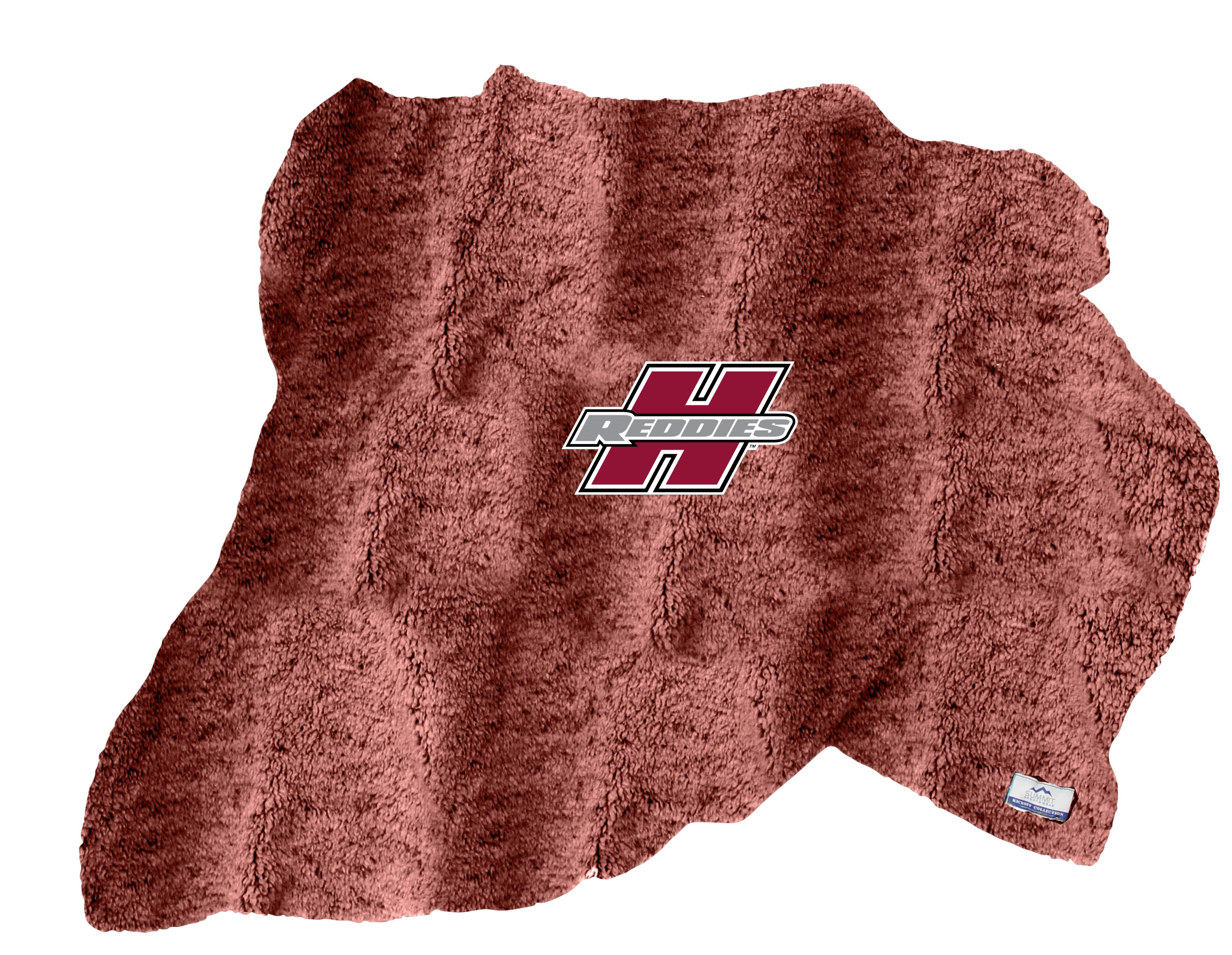 Henderson Reddies Heathered Sherpa Blanket With Fleece Backing