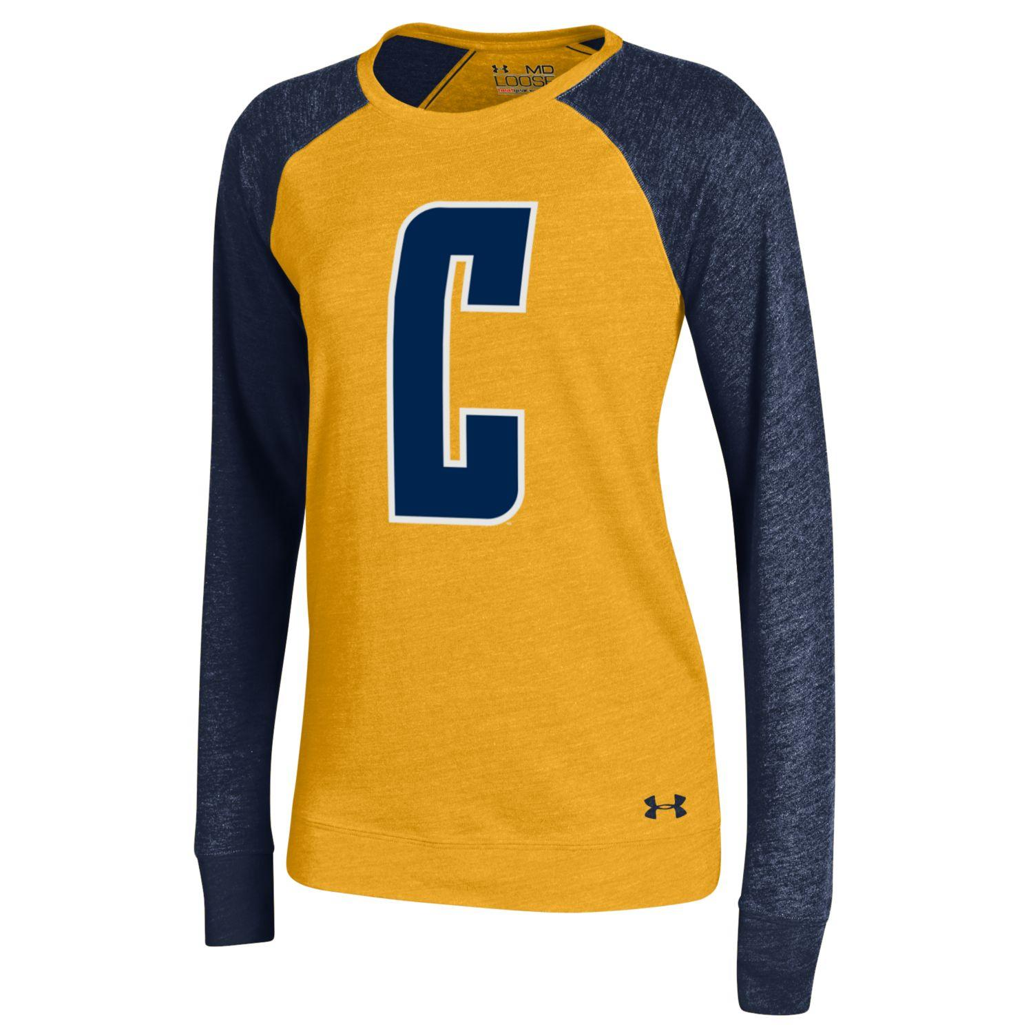 "MD25-Under Armour Women's Triblend Baseball Tee ""Berkeley"""