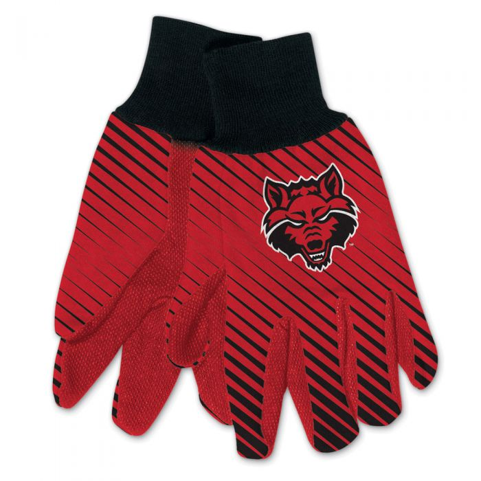 Arkansas State Red Wolves Adult Two Tone Gloves