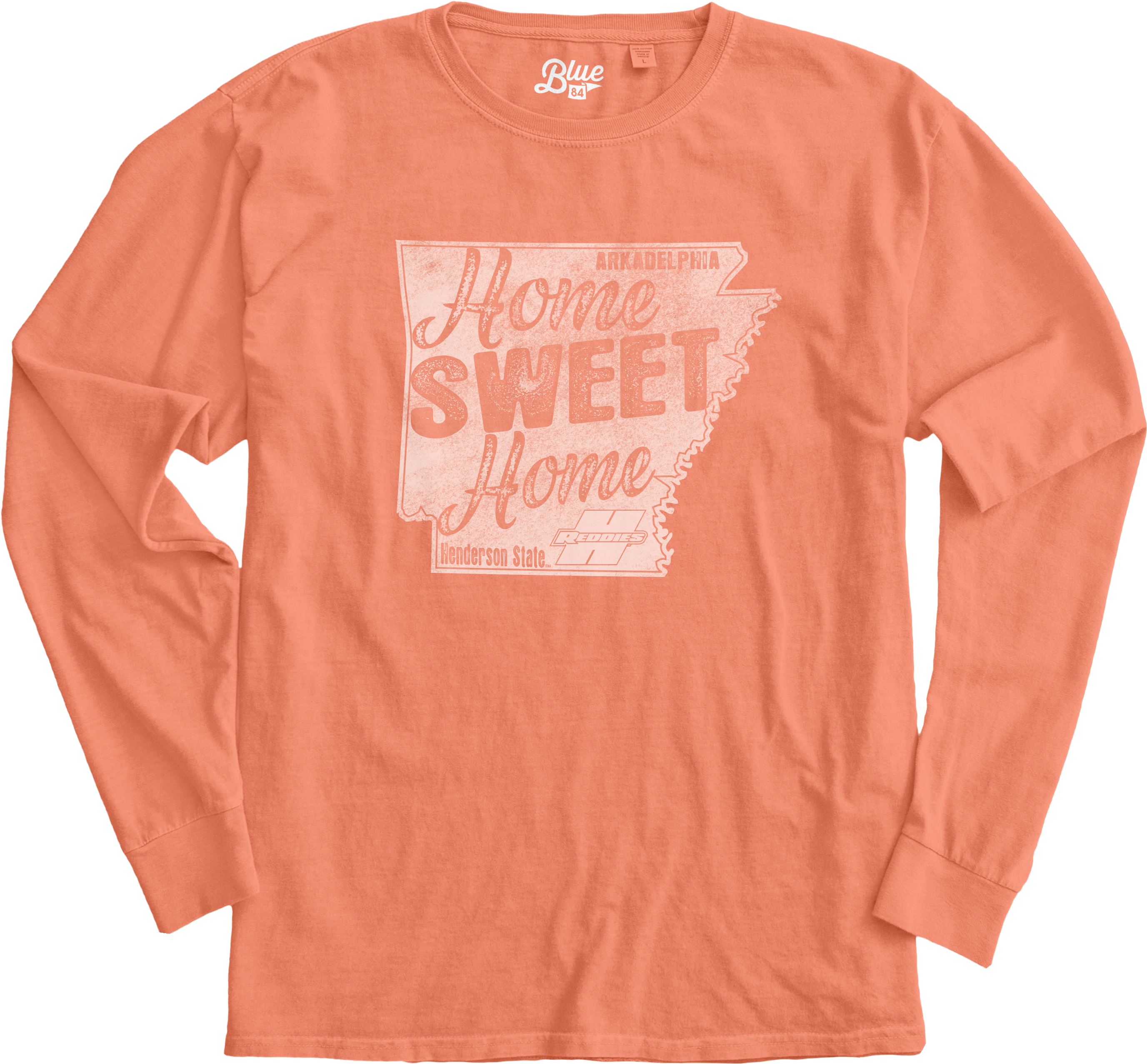 Home Sweet Home Dyed Ringspun Long Sleeve T-Shirt