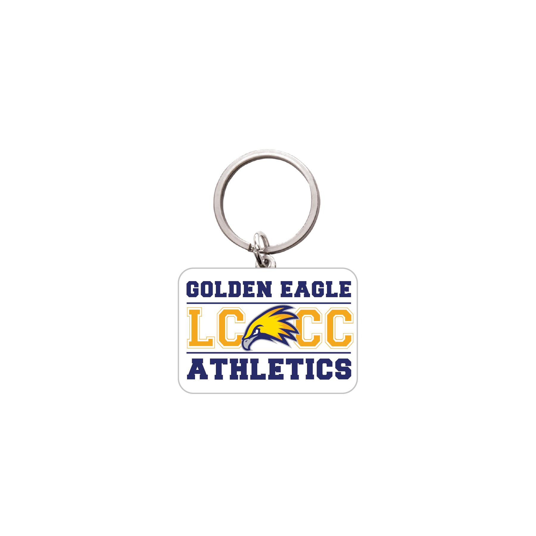 LCCC Athletics Key Chain