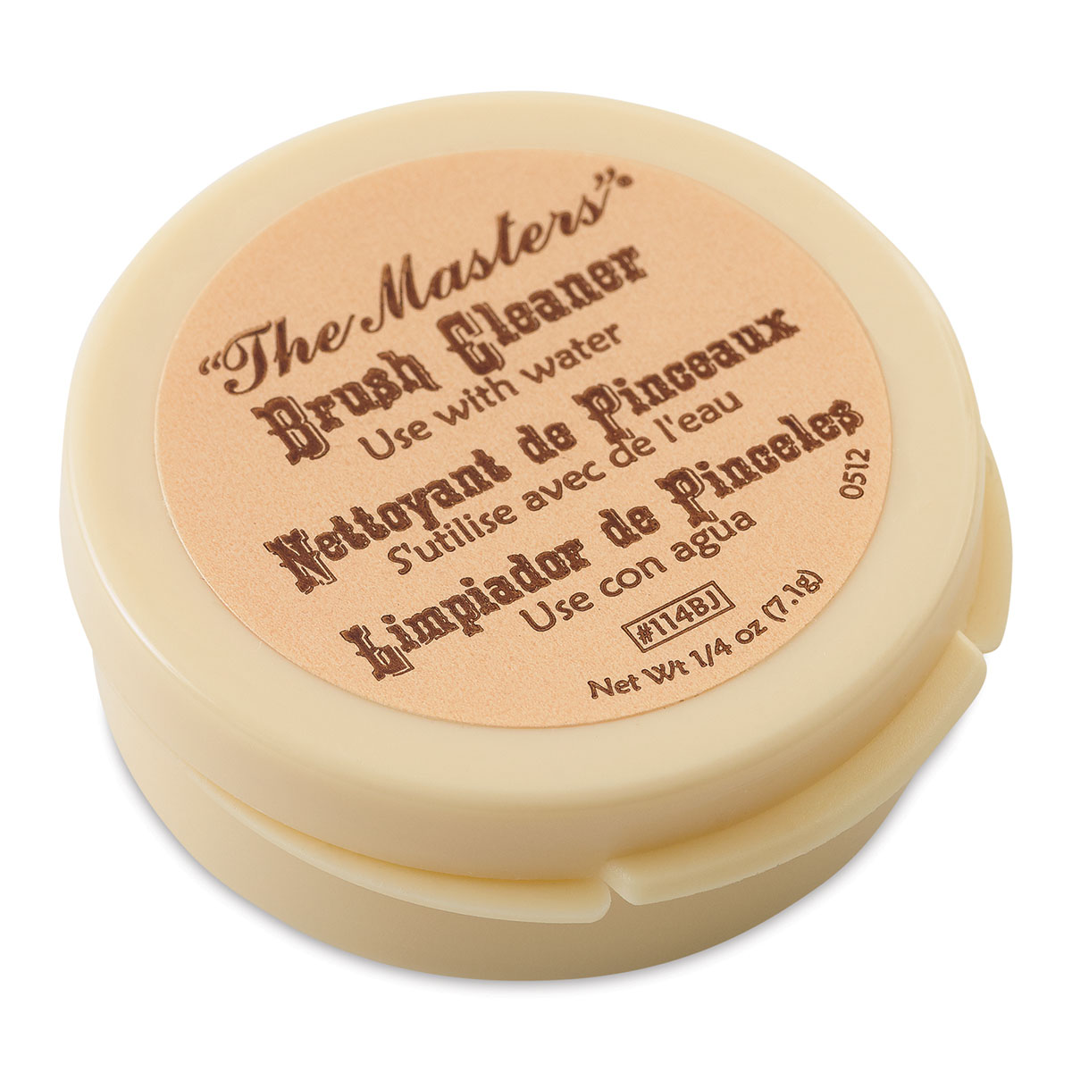 The Masters Brush Cleaner and Preserver, 1/4 oz.