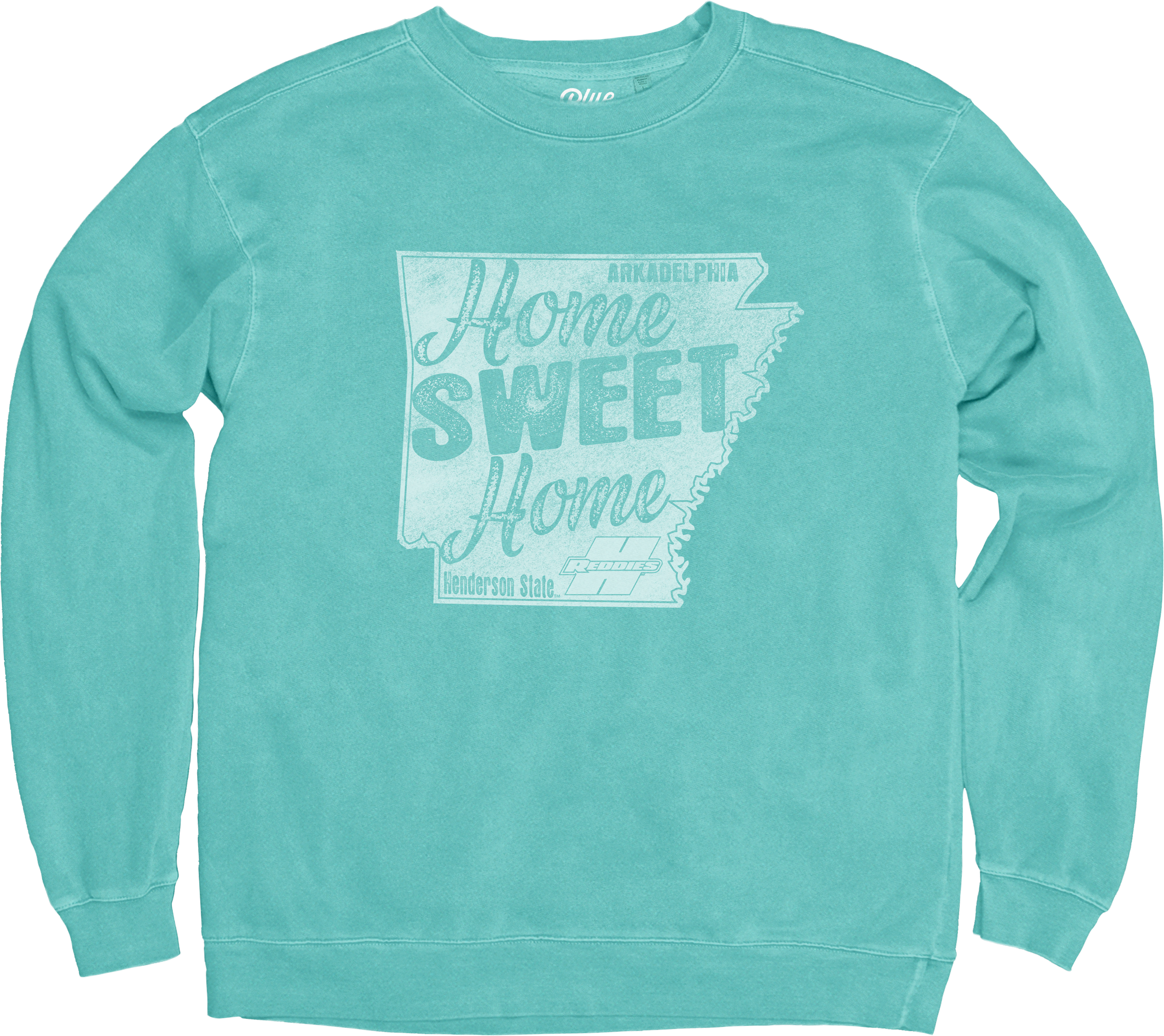 Home Sweet Home Dyed Ringspun Fleece Crew