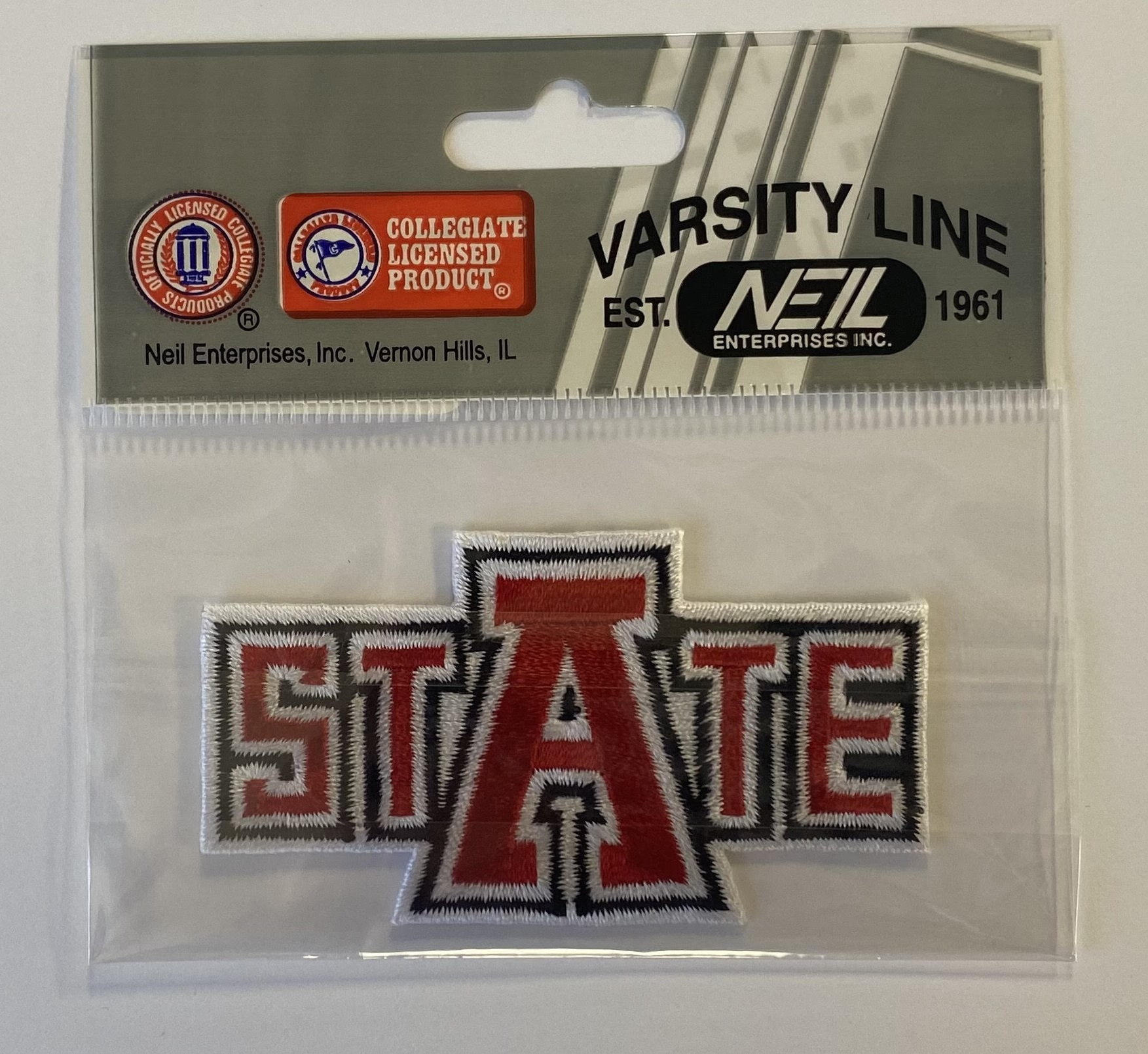 """asAte 3"""" Embroidered Patch"""