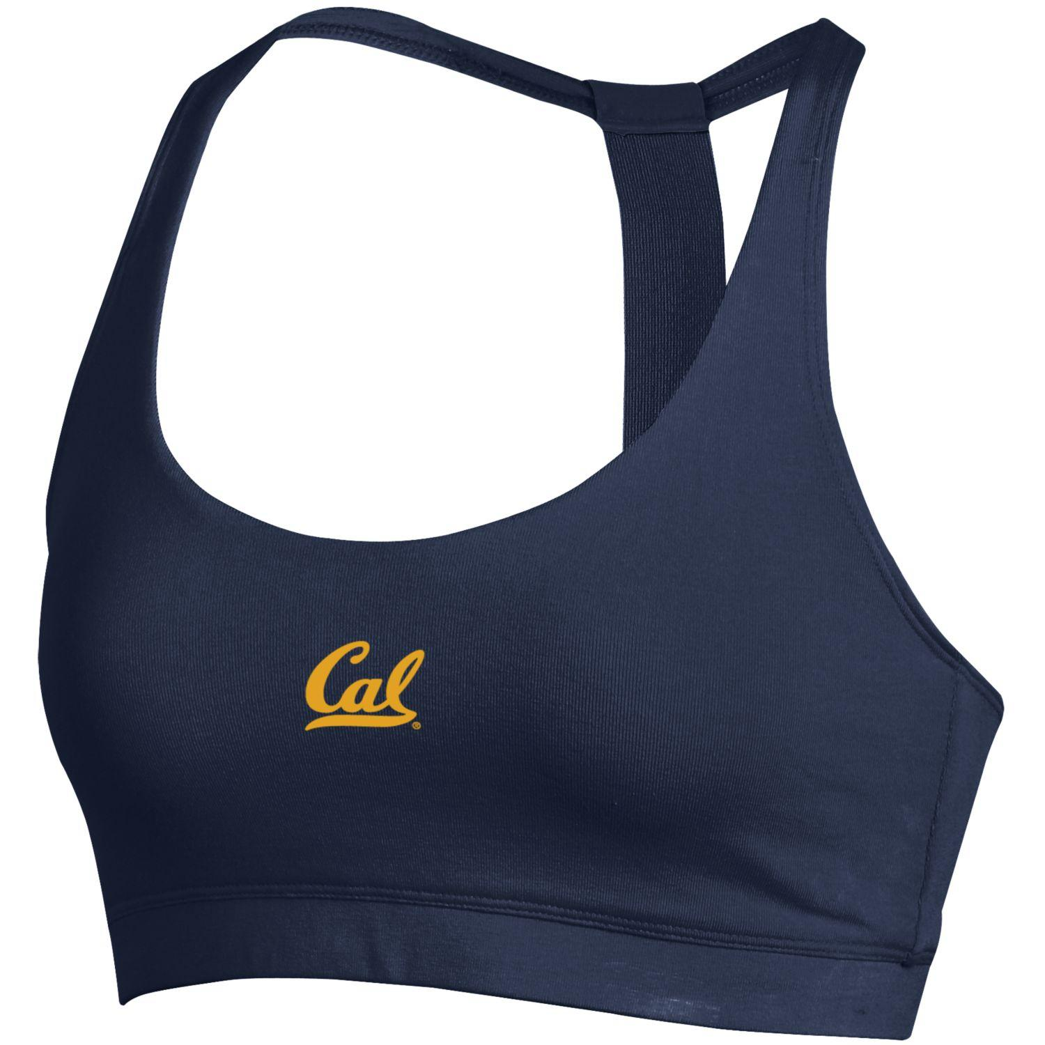 University of California Berkeley Under Armour Favorites Bra