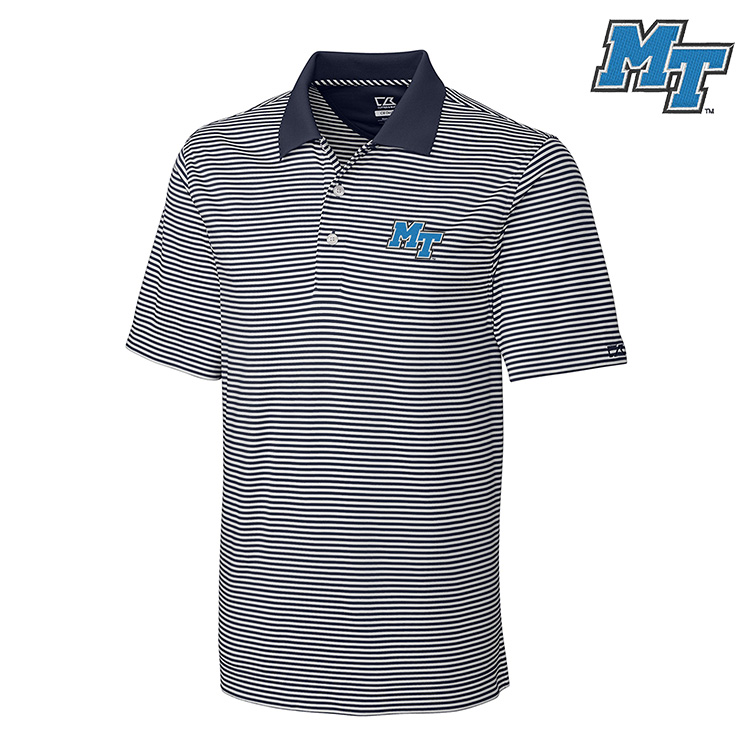 MT Logo Trevor Stripe Polo