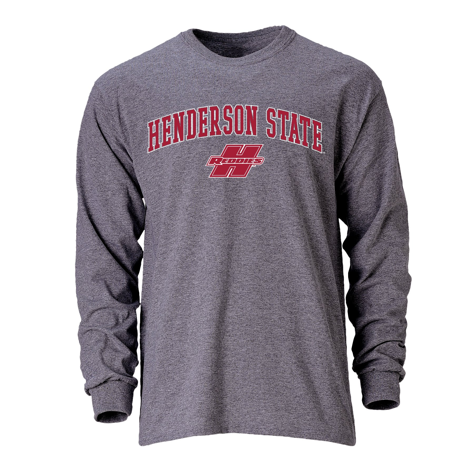 Henderson State Reddies Logo Long Sleeve T-Shirt