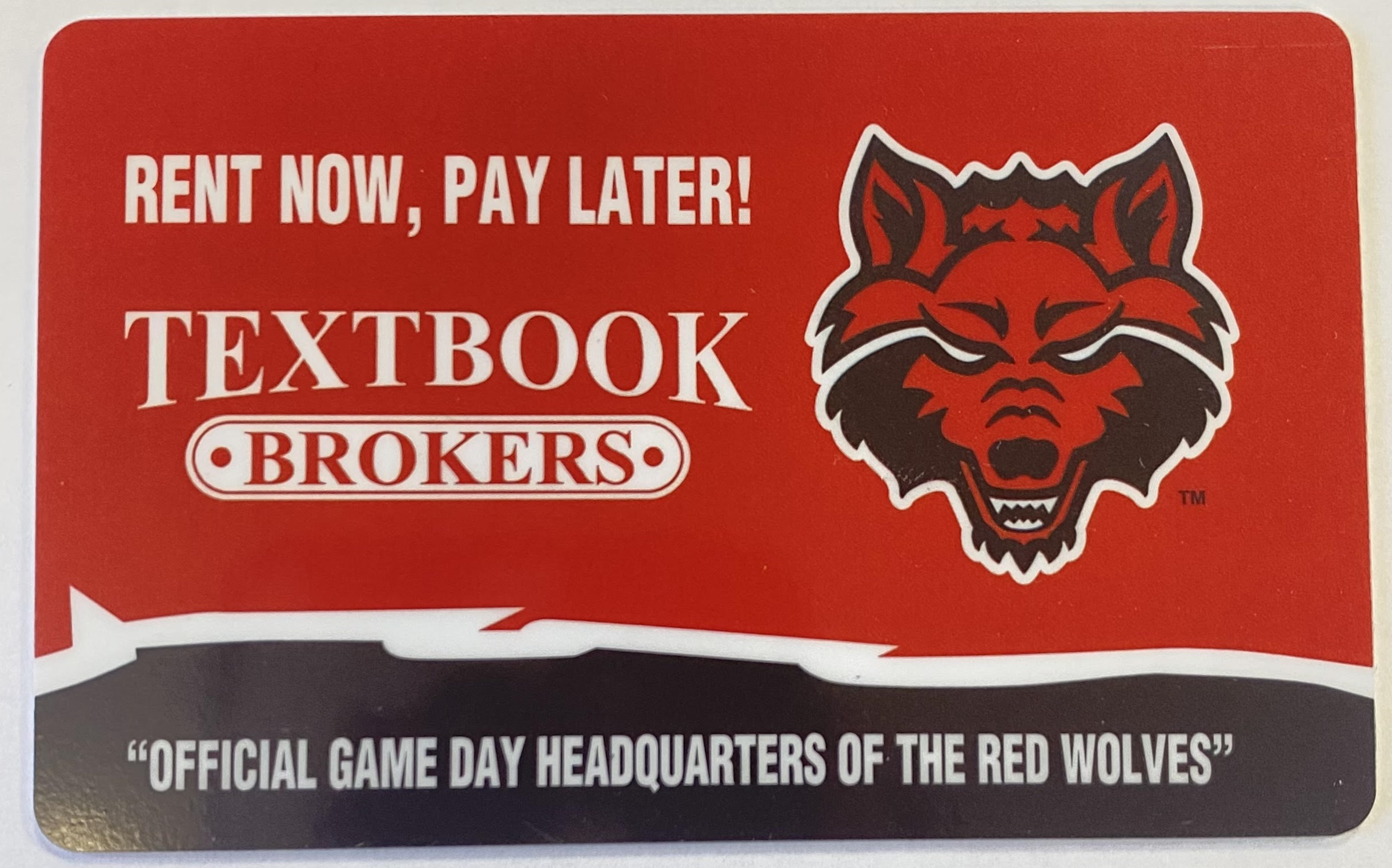 $100 Textbook Brokers Gift Card