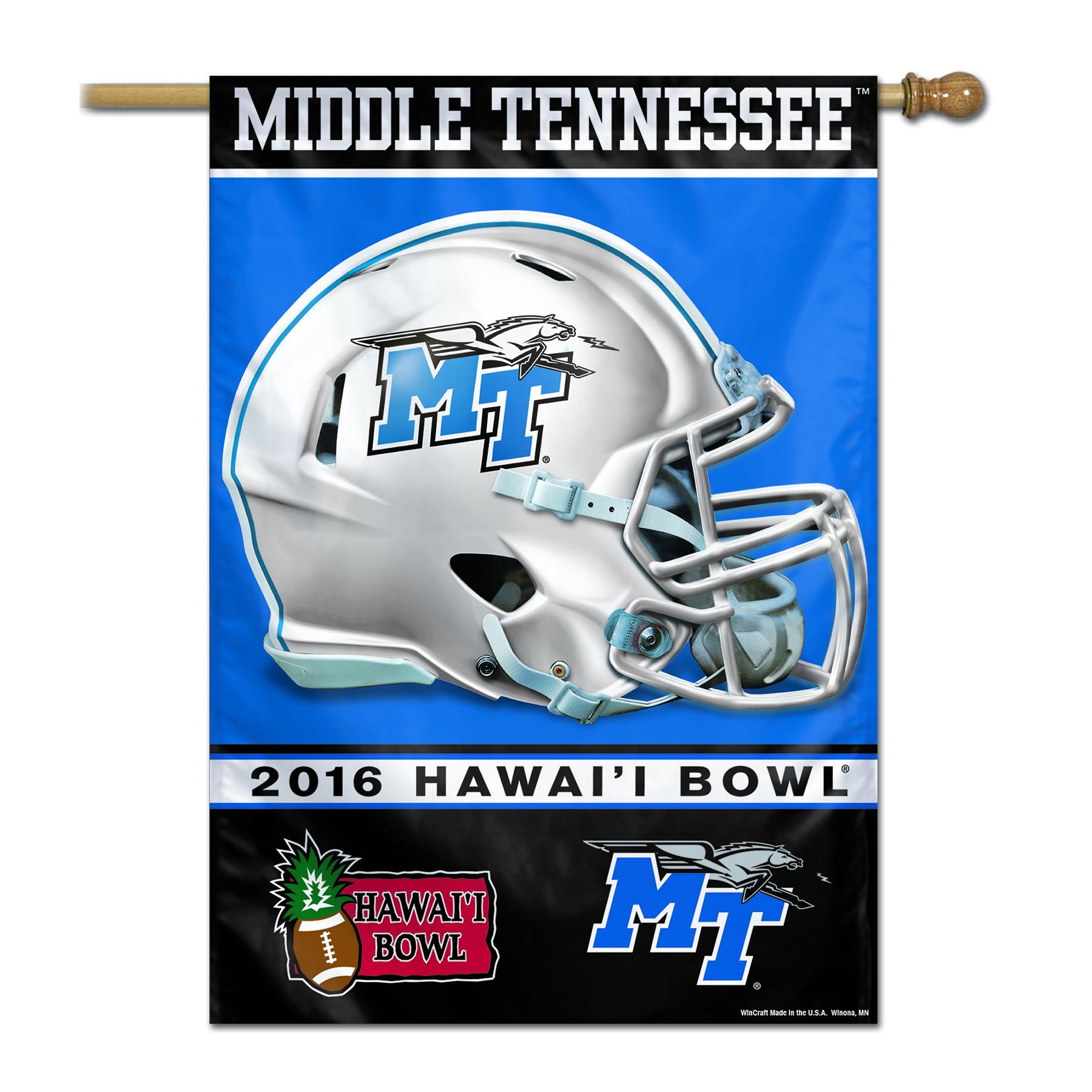 MTSU Hawaii Bowl 2016 Banner