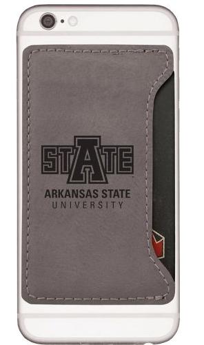 Arkansas State University Velour Cell Phone Cardholder
