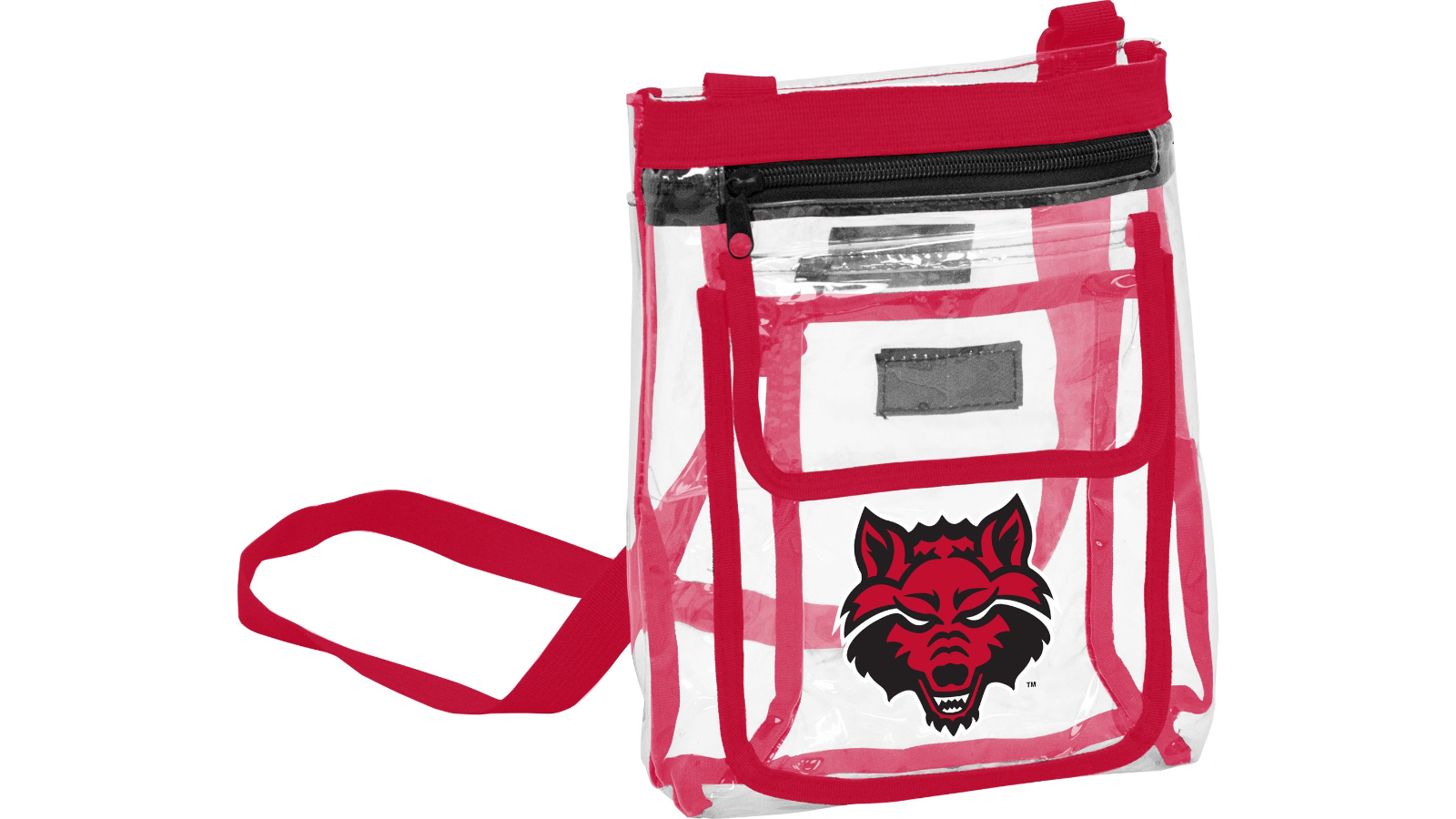 Red Wolves Women's Clear Crossbody