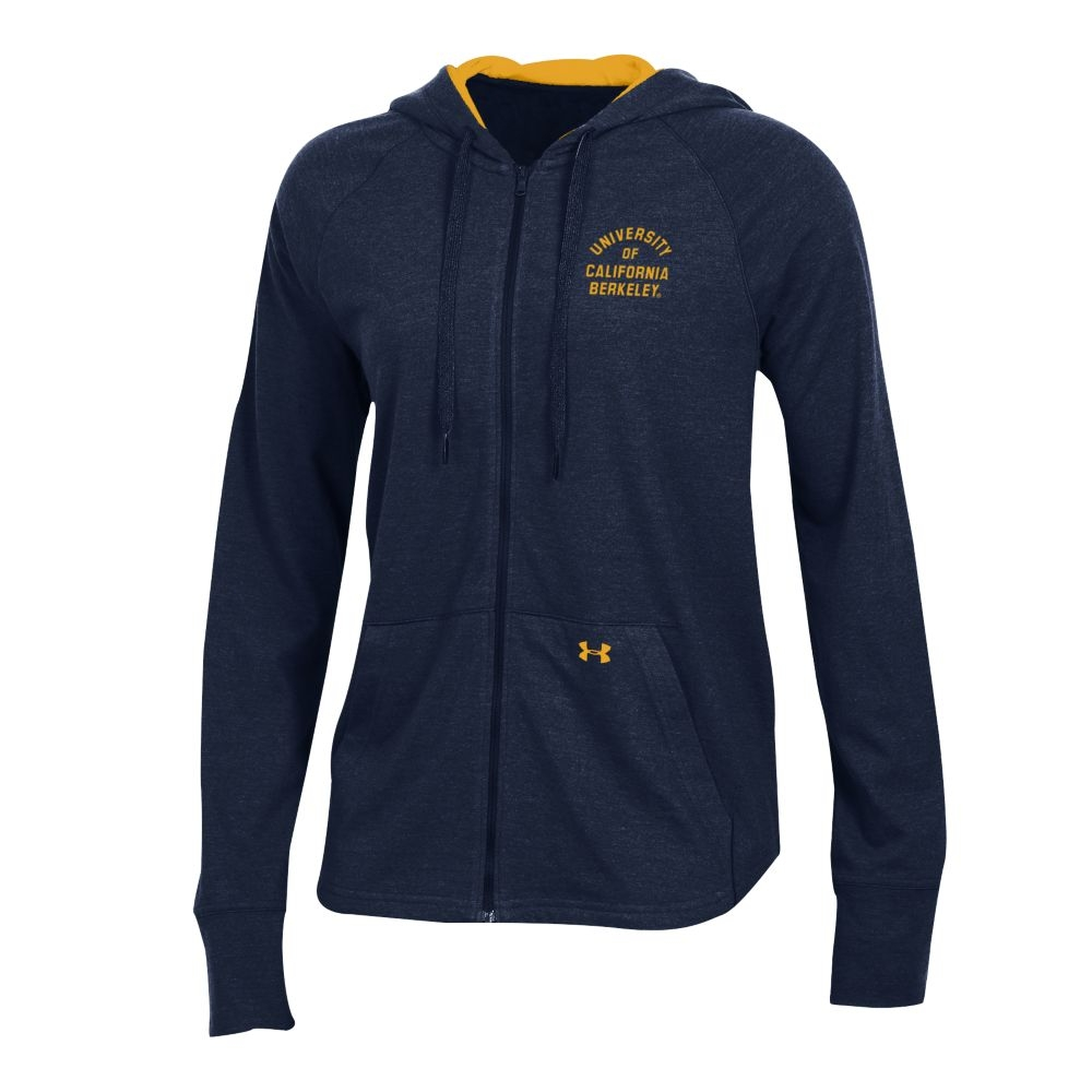 University of California Berkeley Under Armour SMU FT Full Zip CGI Hood