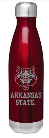 Arkansas State 17oz Force Bottle