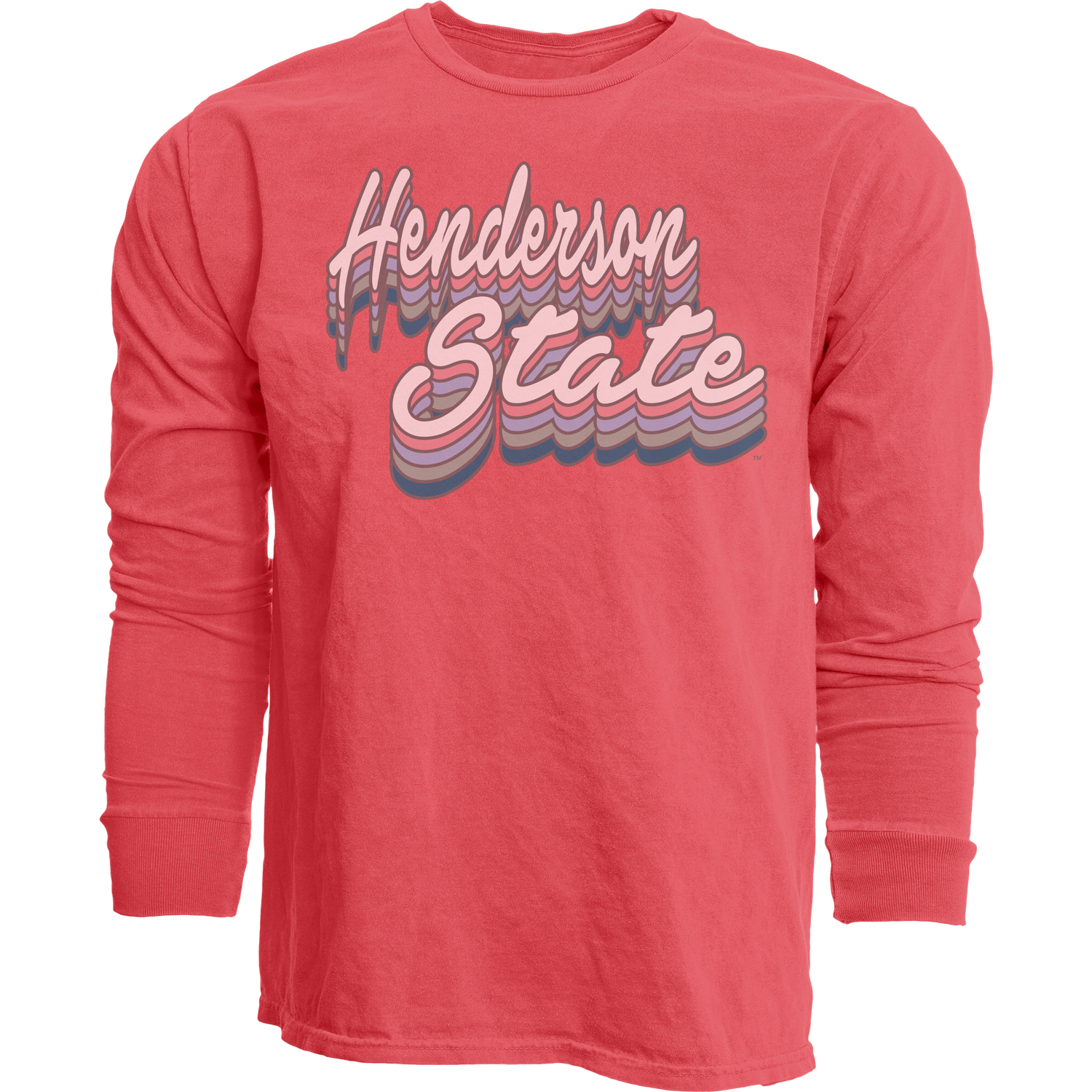 Henderson State Give Good Vibes Long Sleeve T-Shirt